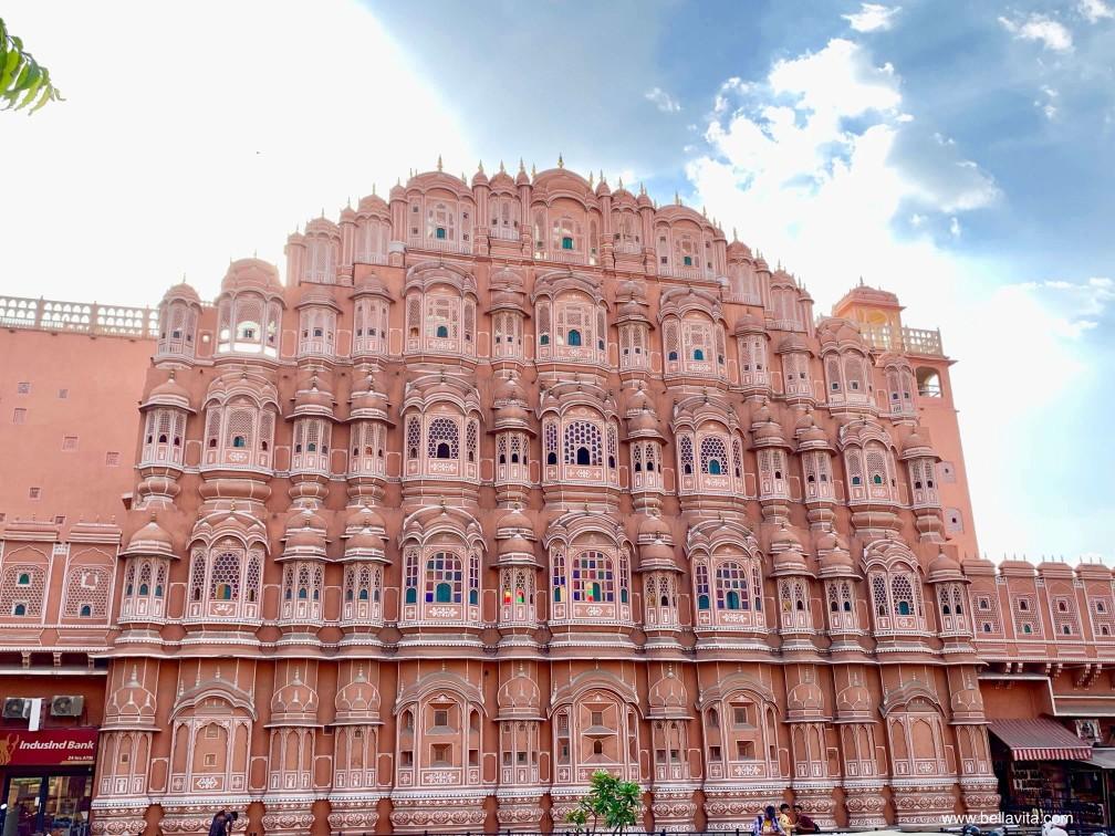 印度 india 齋浦爾 jaipur  街道 pink city 風之宮殿 hawa mahal