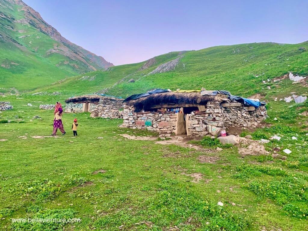 印度India 北北印 North India 喀什米爾 Kashmir 大湖健行 trekking 牧羊人家中