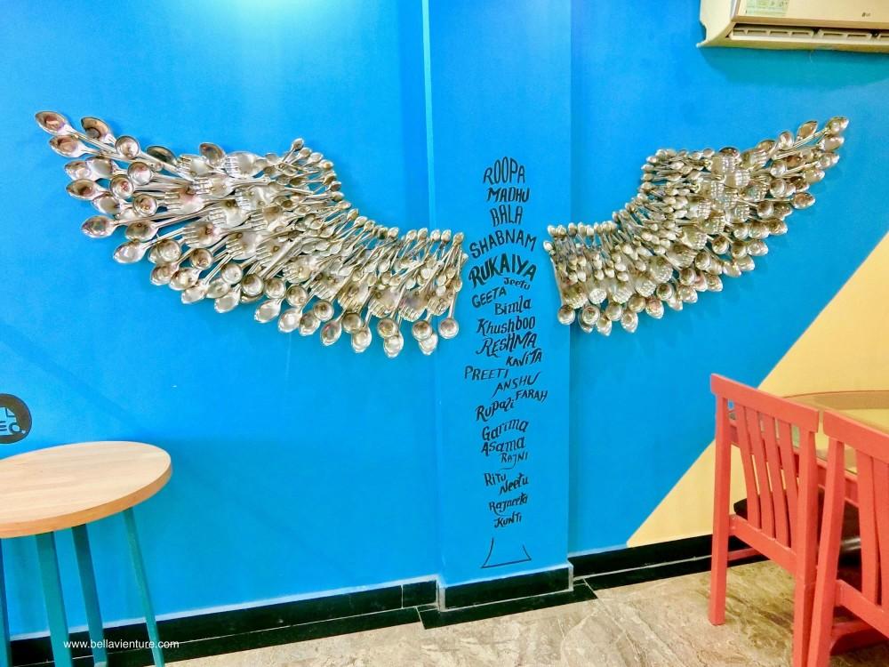 印度 India  阿格拉 Agra 被潑酸者咖啡廳 Shero's Hangout