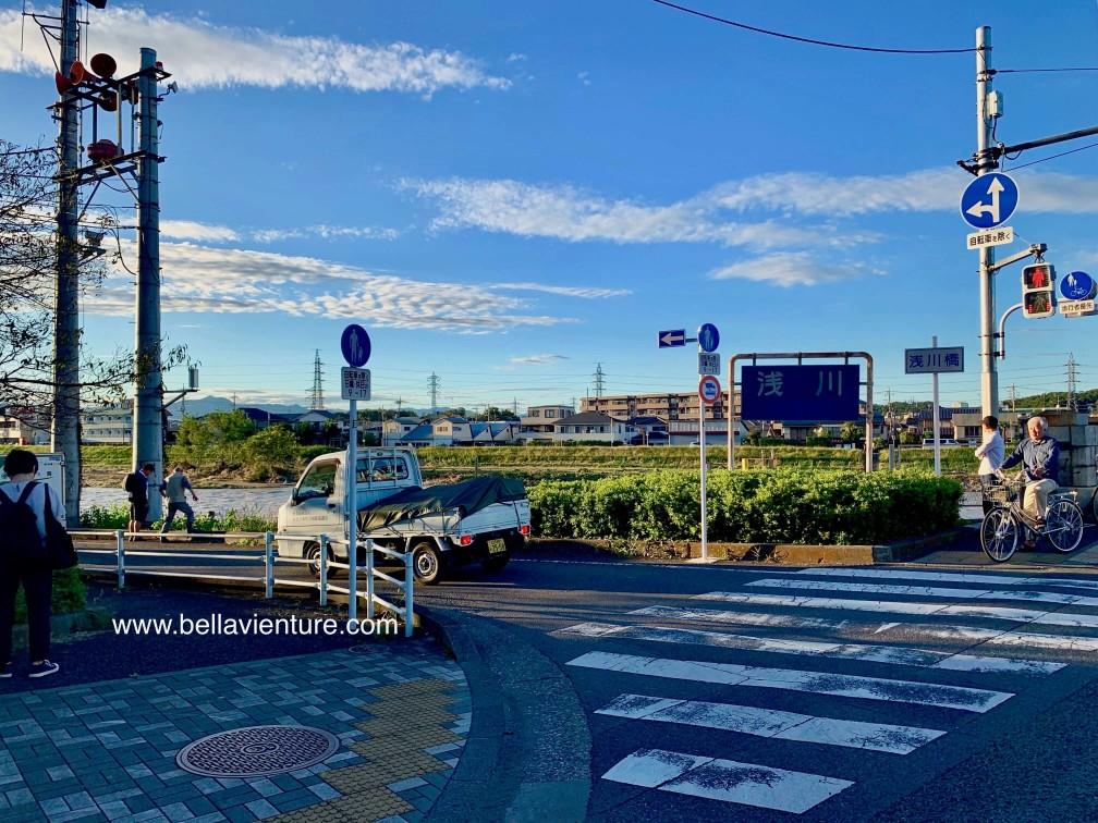 八王子市區街景 淺川
