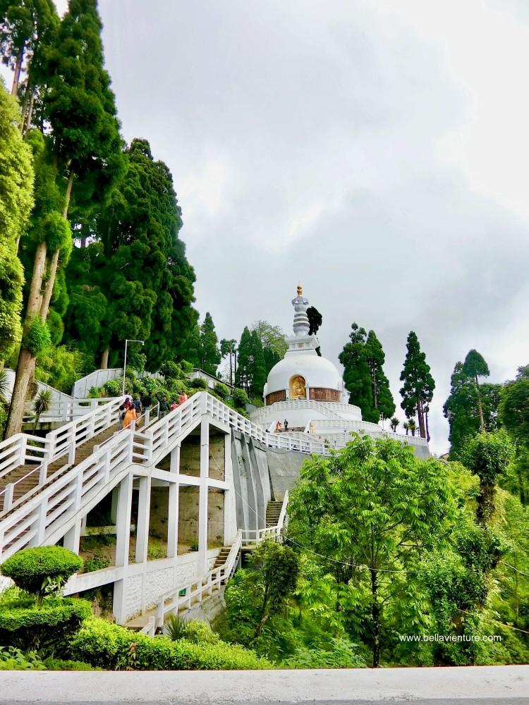印度 大吉嶺 日本山妙法寺 和平塔