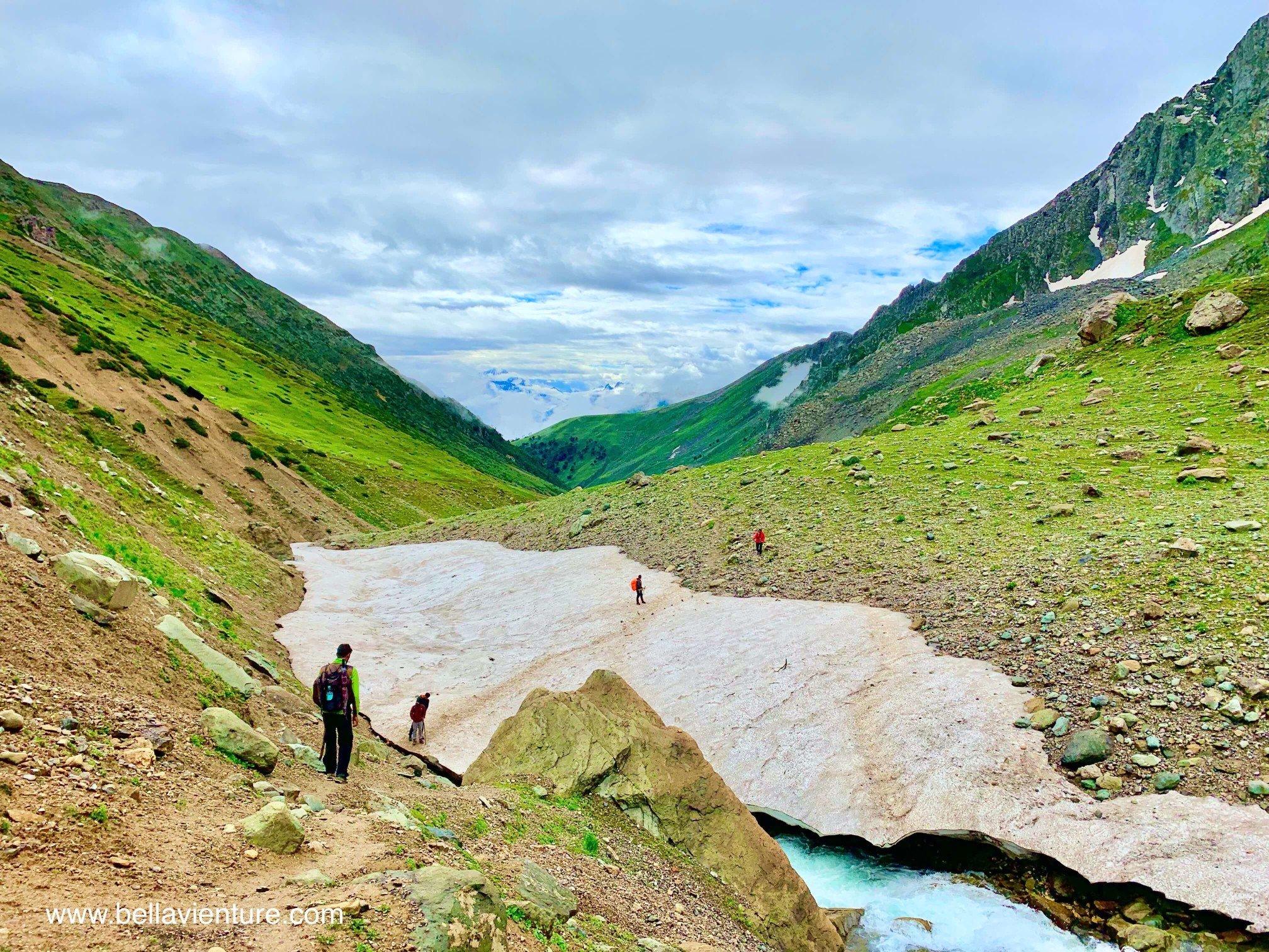印度 India  喀什米爾 Kashmir  北北印 North India 八天七夜健行 冰河