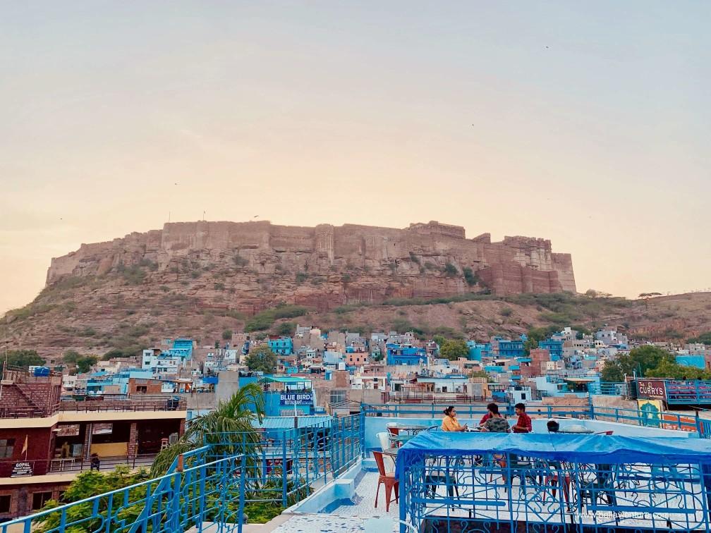 焦特普爾 Jodhpur 藍色城市 Blue city JHANKAR Choti-Haveli Restaurant