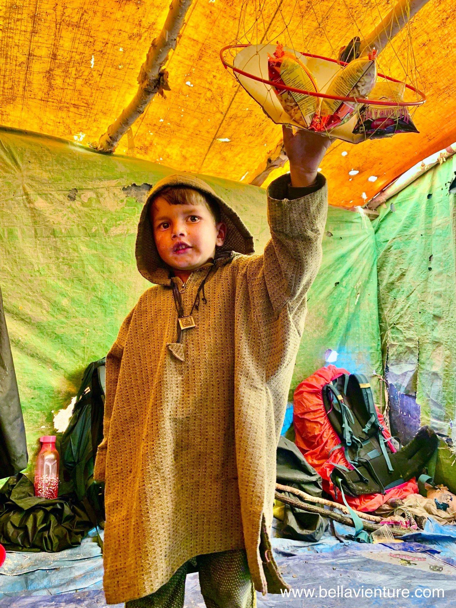 印度 India  喀什米爾 Kashmir  北北印 North India 八天七夜健行 小孩 休息站