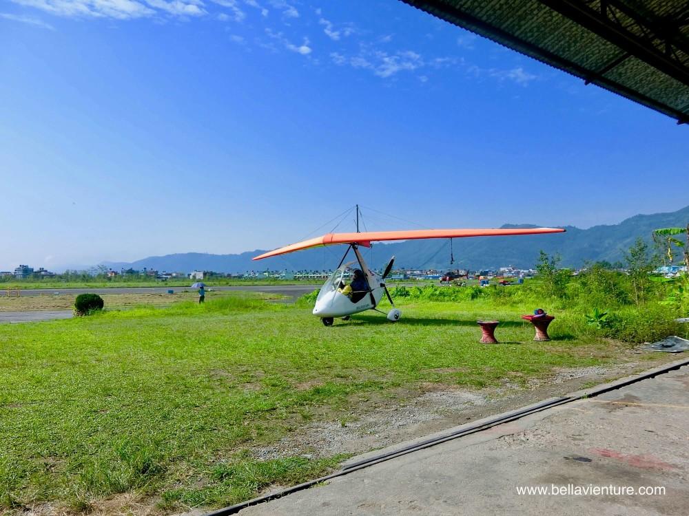 尼泊爾 波卡拉 滑翔翼 Auto plane  Fishtail