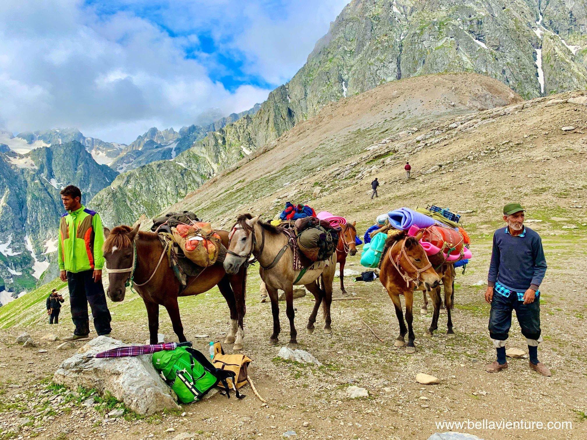 印度India 北北印 North India 喀什米爾 Kashmir 大湖健行 trekking 健行團隊