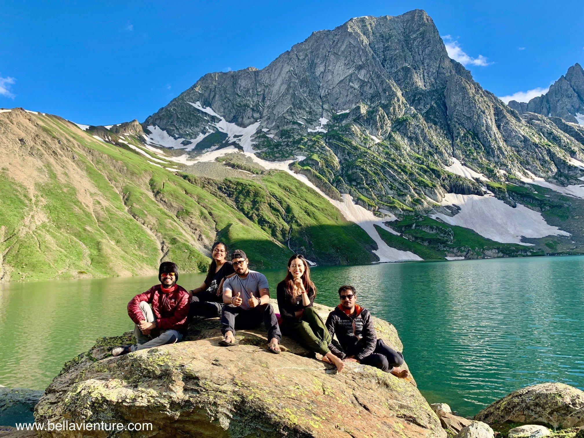 印度 India 北北印 North India 喀什米爾  Kashmir 八天七夜 健行 Nichnai Valley 超藍聖湖 團照