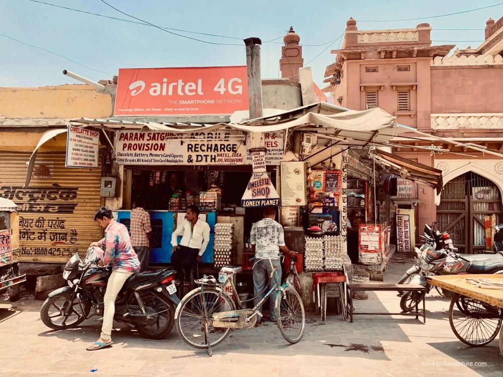 焦特普爾 Jodhpur 藍色城市 Blue city Omelette shop lonely planet