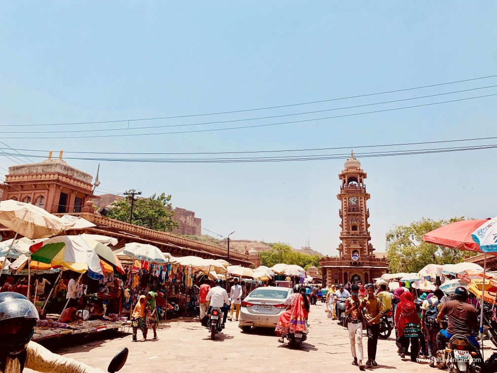 焦特普爾 Jodhpur 藍色城市 Blue city 鐘樓 市集