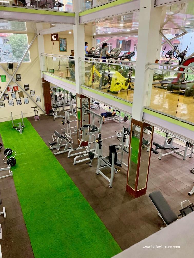 尼泊爾 加德滿都 健身房 hardik fitness club