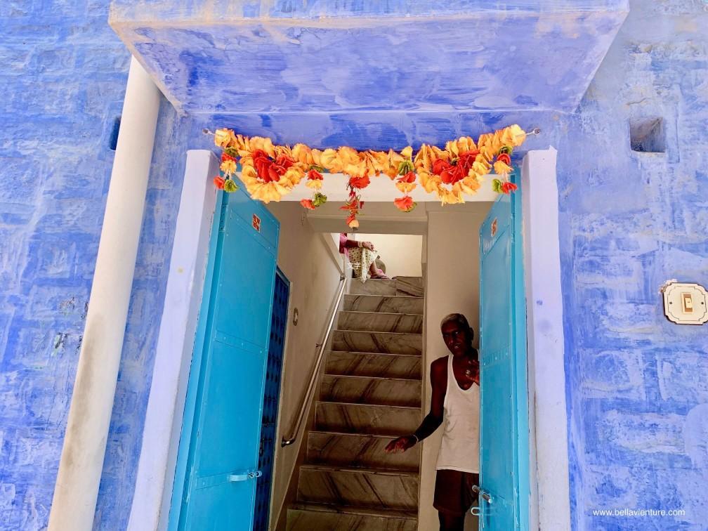 焦特普爾 Jodhpur 藍色城市 Blue city 街景 street view