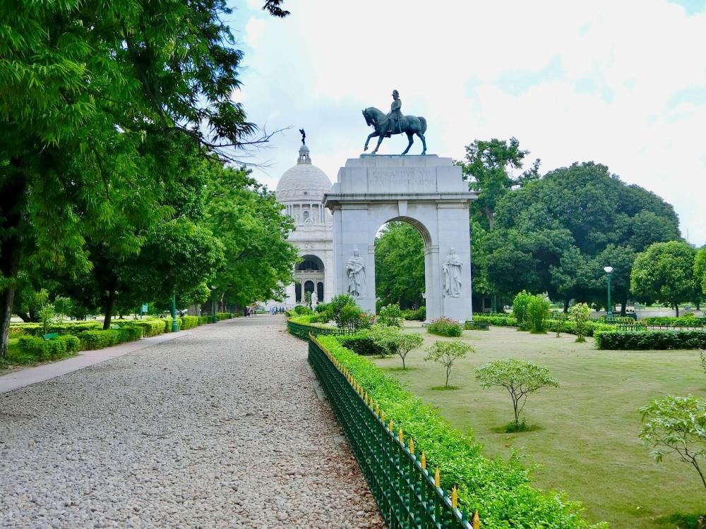 印度 加爾各答 維多利亞紀念堂 入口