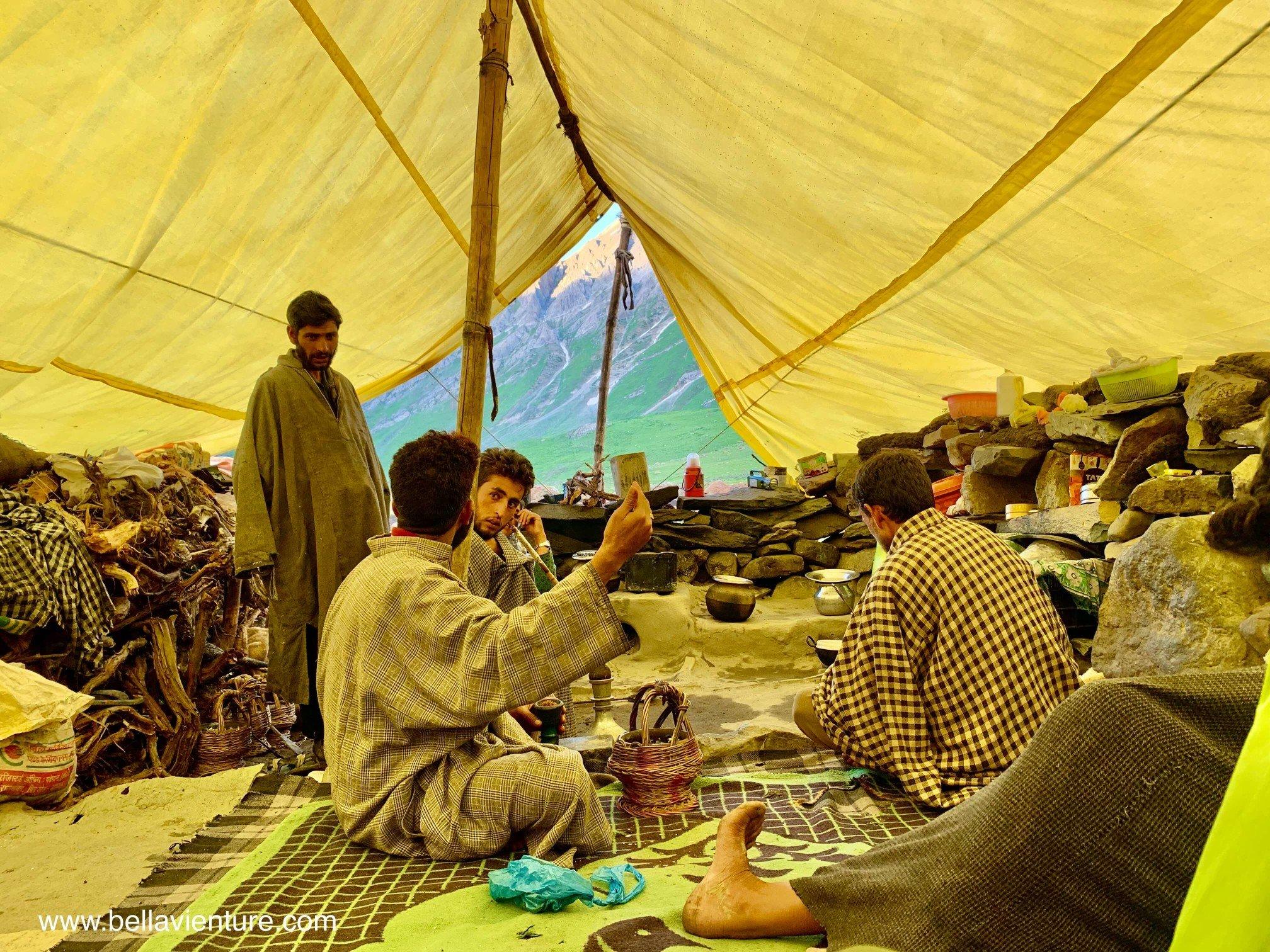 印度 India 北北印 North India 喀什米爾  Kashmir 八天七夜 健行 Nichnai Valley 牧羊人的居所作客