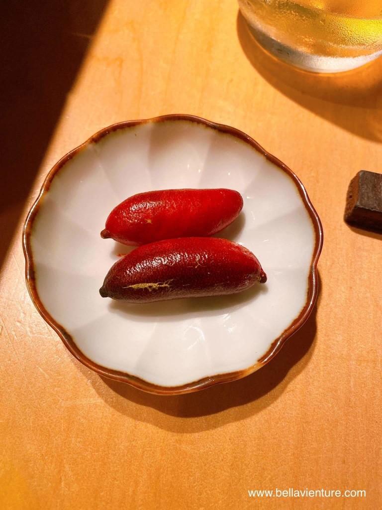 彧割烹 日式料理 中正區 水梨 果菜界魚子醬