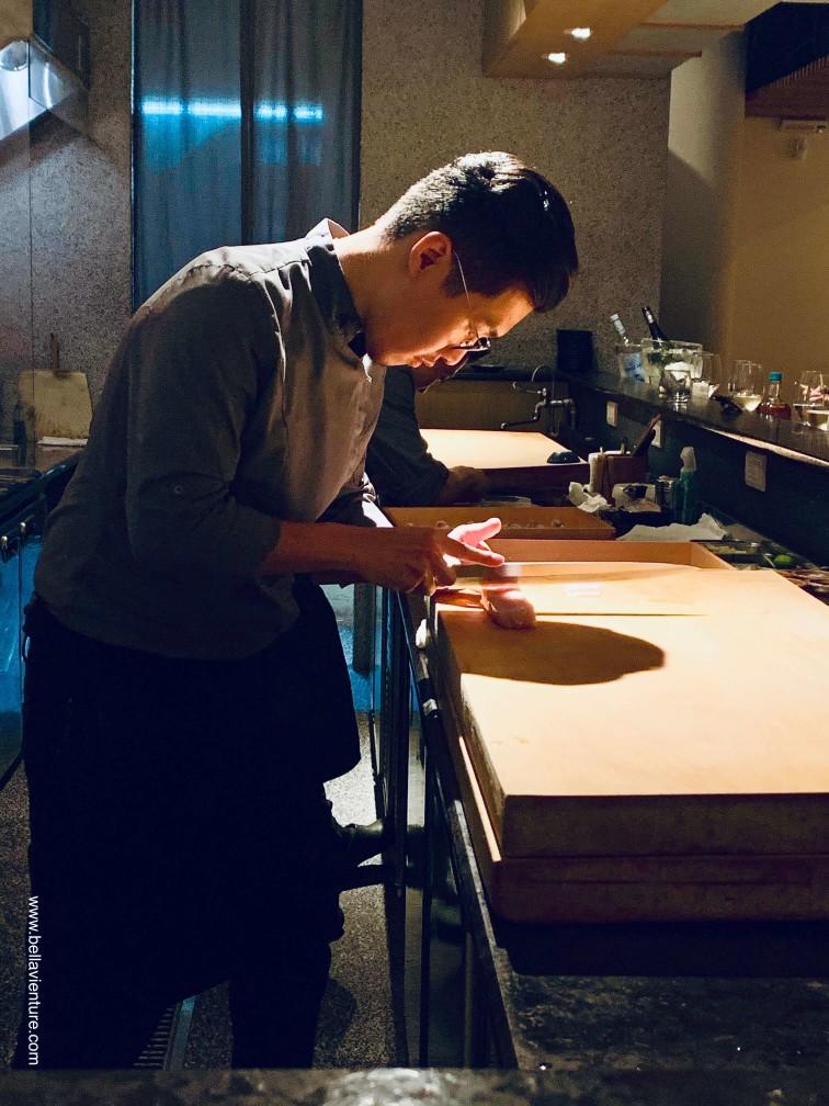 【台北中山區】彧割烹.米其林秋季料理饗宴.植物界魚子醬(圖多)