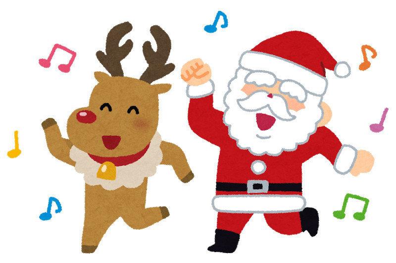 bye dance santa christmas