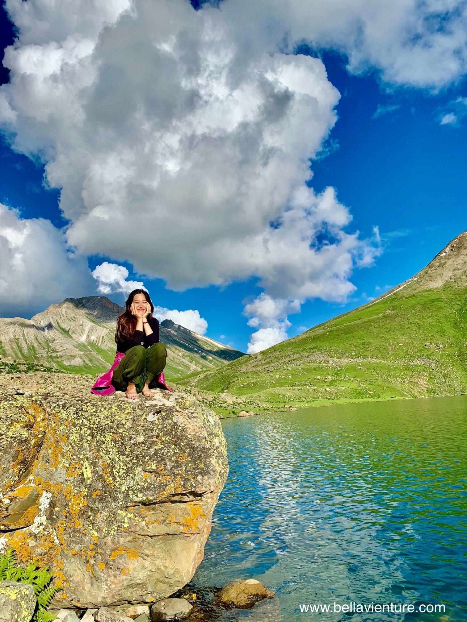 印度 India 北北印 North India 喀什米爾  Kashmir 八天七夜 健行 Nichnai Valley 超藍聖湖