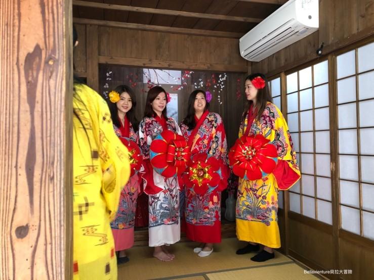 沖繩傳統服裝.體驗