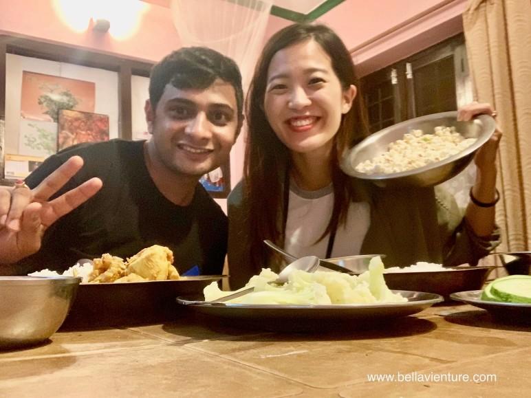 尼泊爾 波卡拉 Nepal Pokhara 尼泊爾晚餐