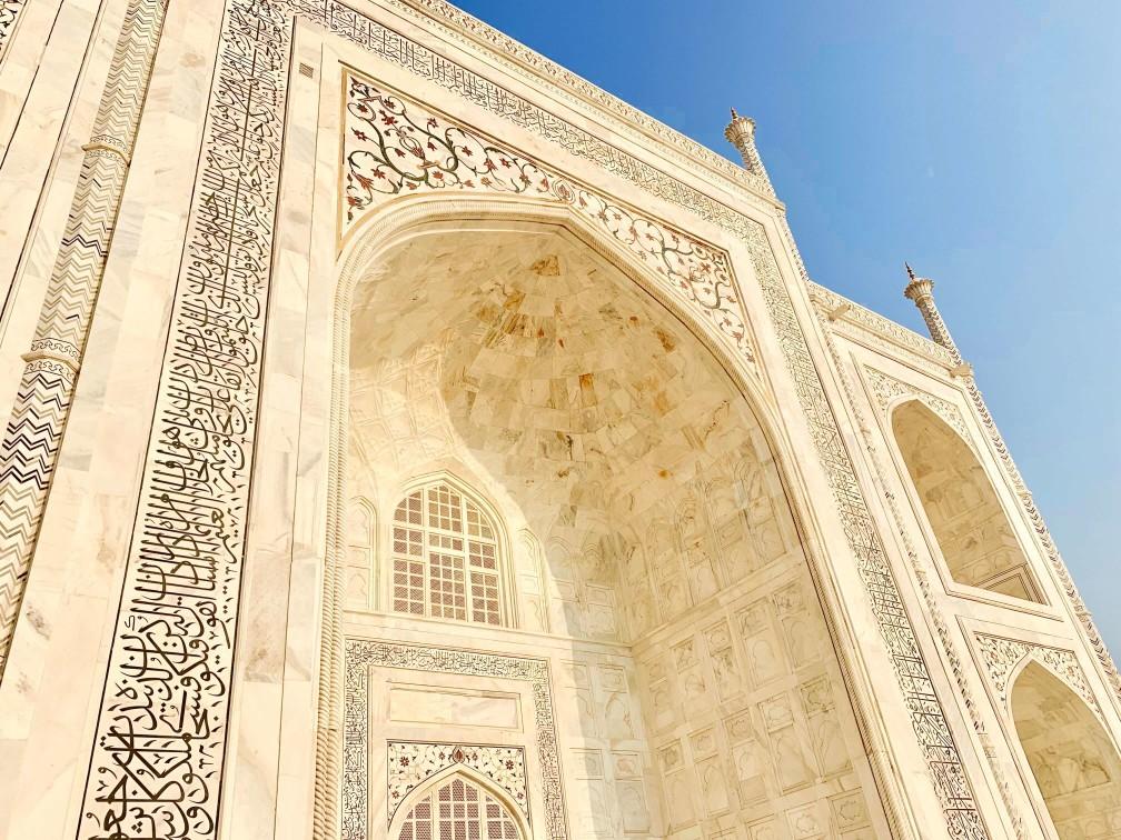 印度india  阿格拉 Agra 泰姬瑪哈陵 Taj Mahal 日出