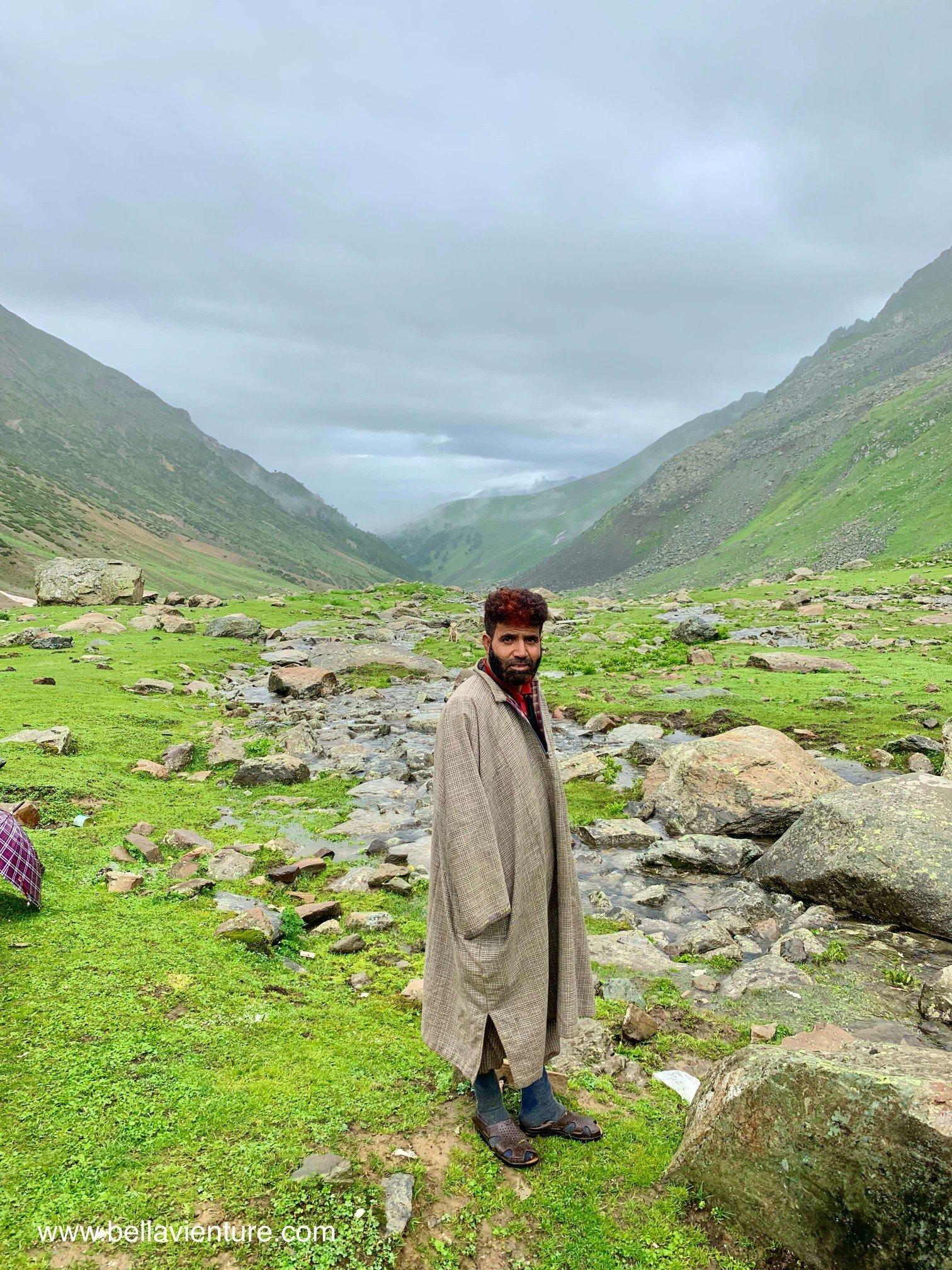 印度 India  喀什米爾 Kashmir  北北印 North India 八天七夜健行 大自然 美景 河邊