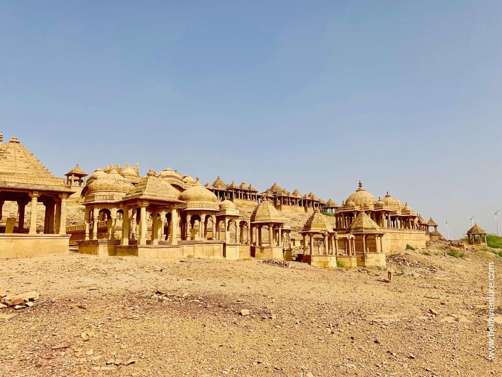 印度 india 賈莎梅爾Jaisalmer 金色城市golden city 皇家墓園 bada bag
