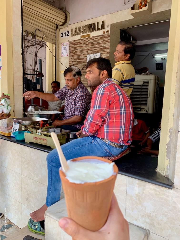 印度 india 齋浦爾 jaipur  街道 pink city lassiwala