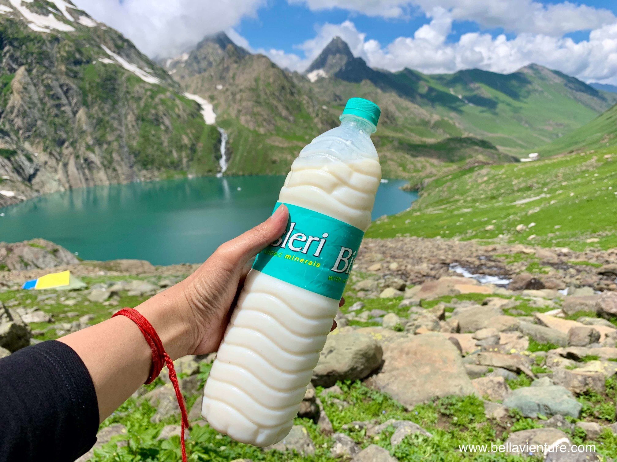 印度India 北北印 North India 喀什米爾 Kashmir 大湖健行 trekking 天然酸奶