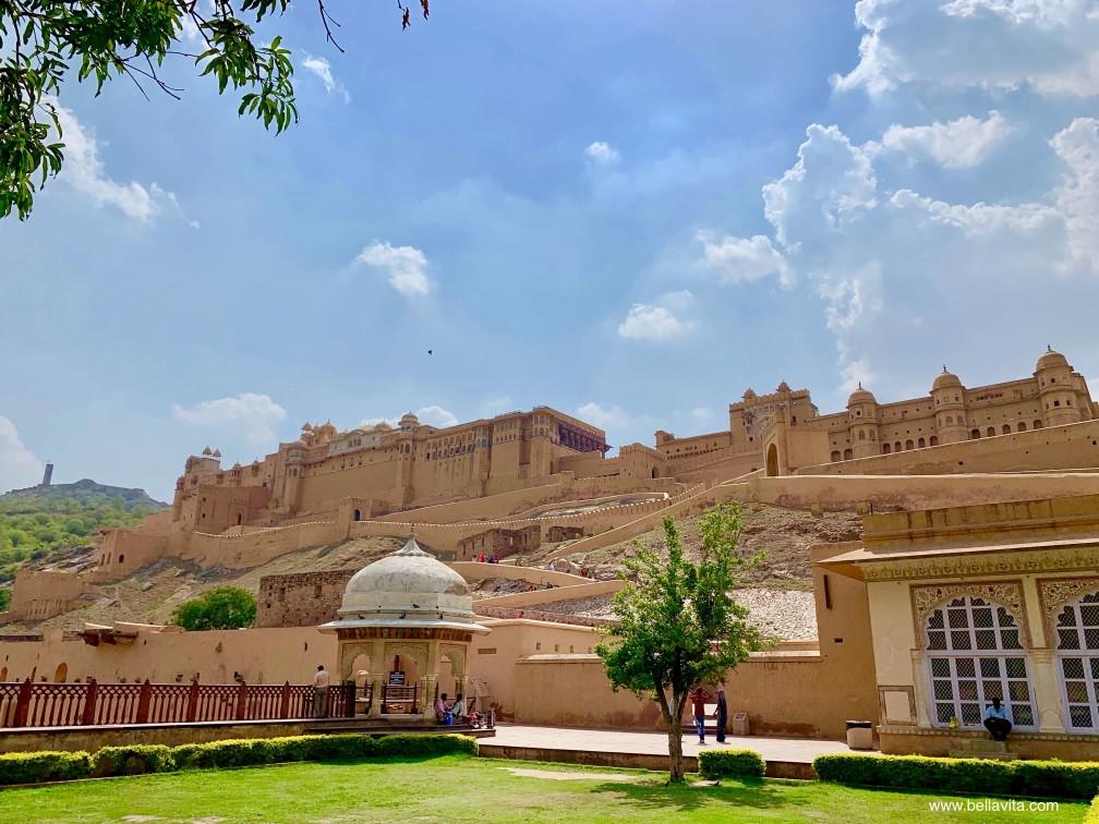 印度 india 齋浦爾 jaipur  街道 pink city 安珀堡 Amber fort