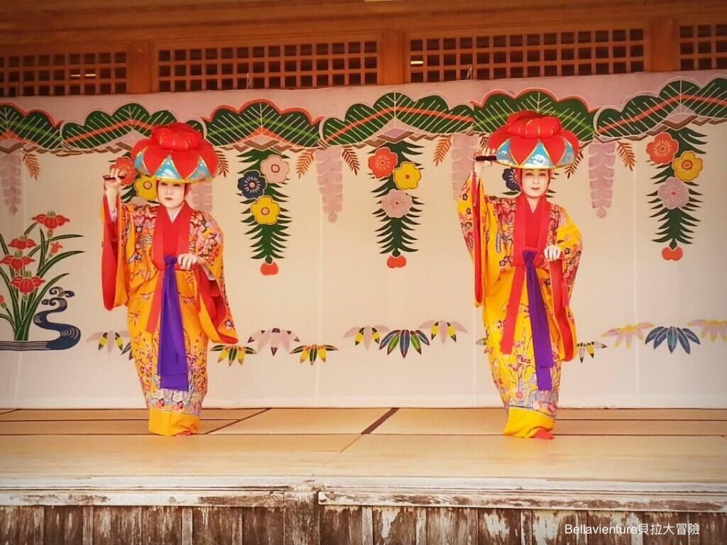 首里城的舞蹈表演