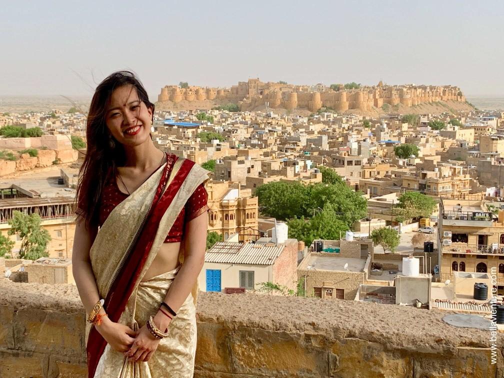 印度 india 賈莎梅爾Jaisalmer 金色城市golden city 日落景觀點 sunset point