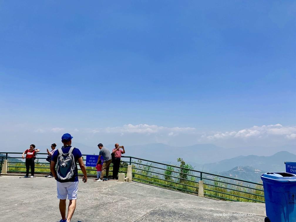 尼泊爾 加德滿都 Chandragiri Cable Car 纜車 平台 觀景台