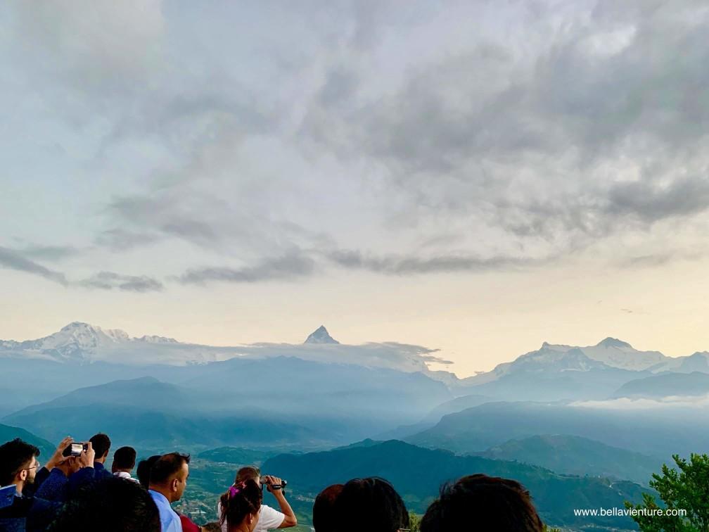 尼泊爾 nepal  波卡拉 pokhara 日出 sunrise 魚尾峰