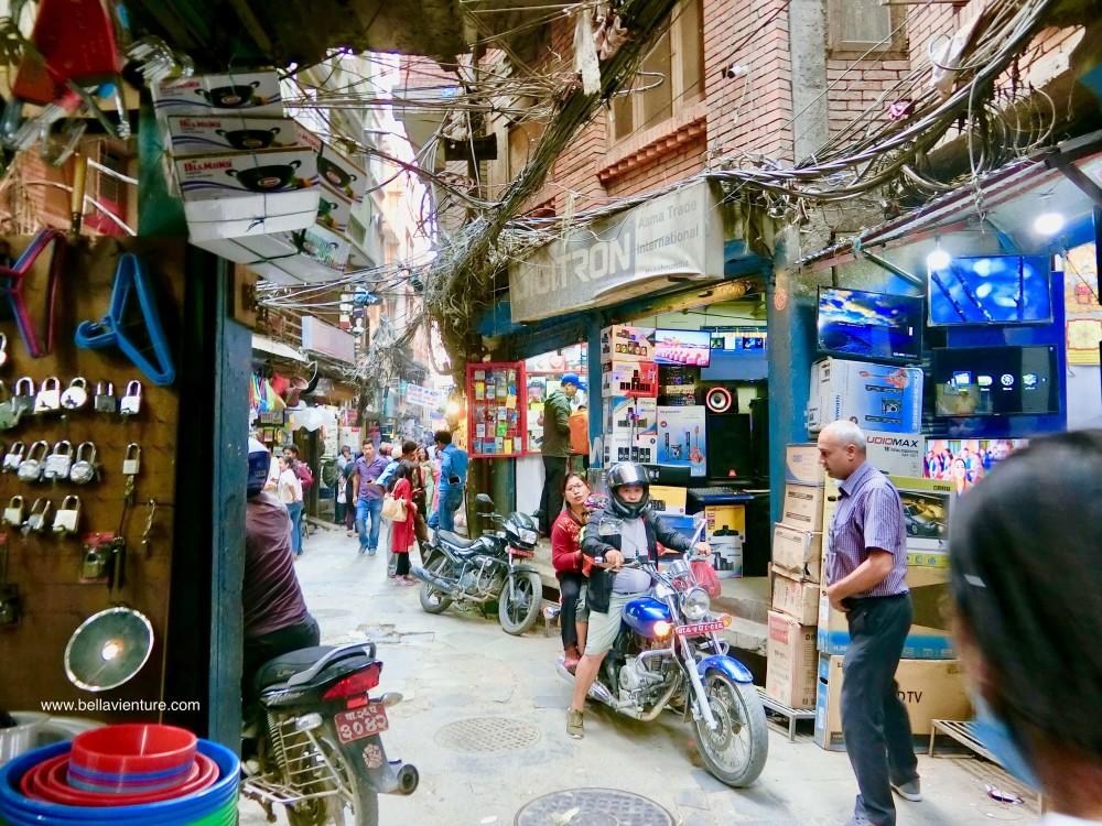 尼泊爾 加德滿都 Tamel area 塔美爾區 老街