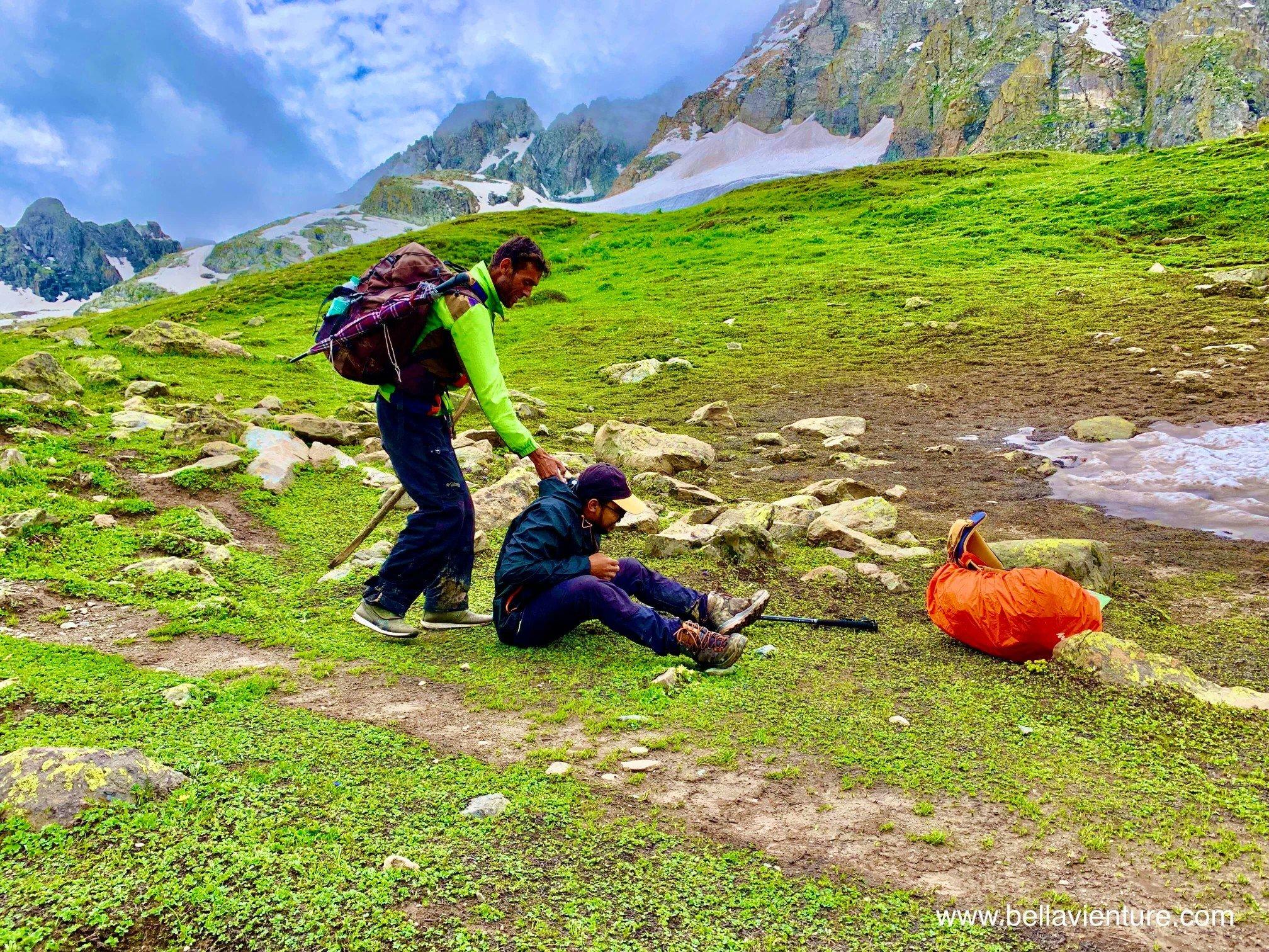 印度 India 北北印 North India 喀什米爾  Kashmir 八天七夜 健行 導遊與健行客