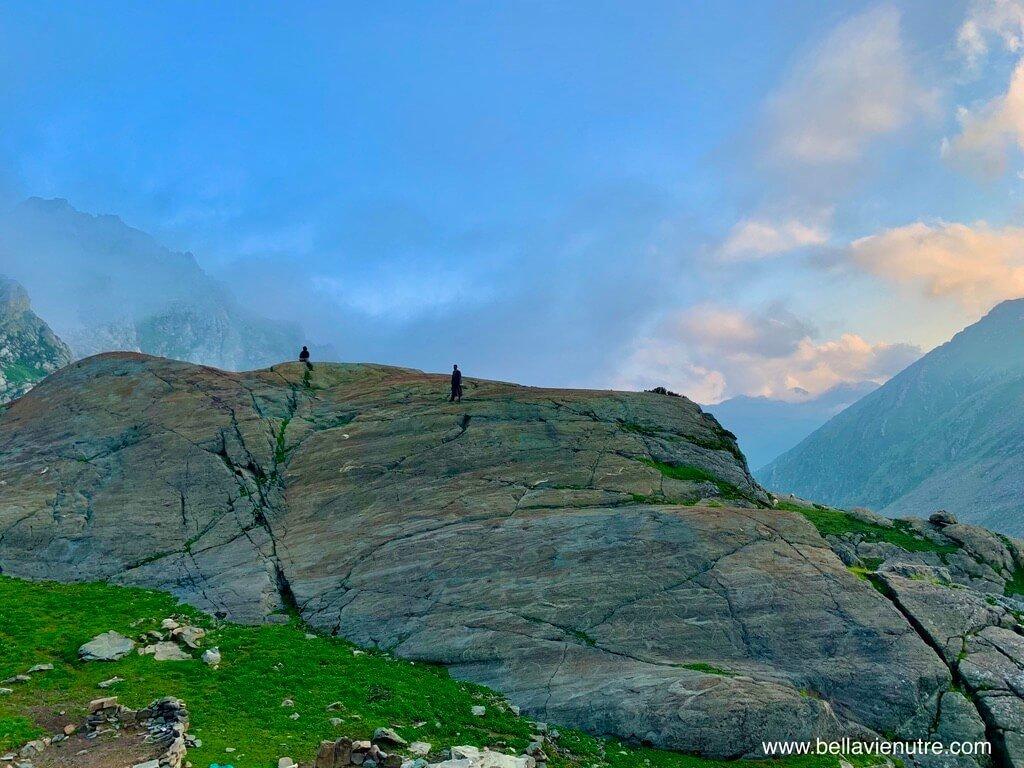 印度 India 北北印  North India 喀什米爾 Kashmir 大湖健行 trekking Kashmir Great Lakes Trek 攀岩走壁