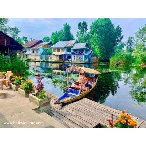 【印度】21天秒決定到印度兩個月!喀什米爾(三) Day50 達爾湖一日遊.印度的水上市集
