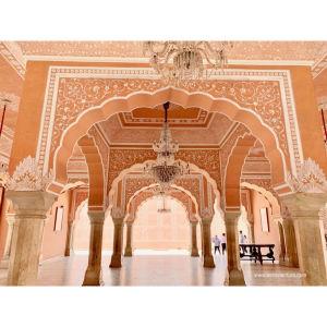【印度】21天秒決定到印度兩個月!齋浦爾(二)Day21 城市宮殿.大象之家.染布村桑格爾