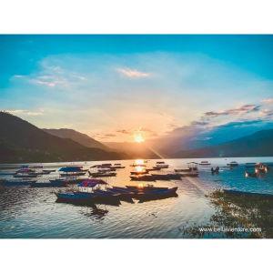 【印度】21天秒決定到印度兩個月!尼泊爾(八)Day14 波卡拉-飛行傘/惡魔瀑布/難民營