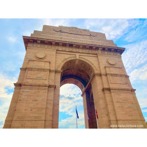 【印度】21天秒決定到印度兩個月!新德里(四) Day62 很喜歡的蓮花寺推!印度門之旅