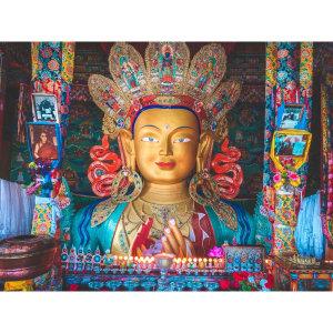 【印度】21天秒決定到印度兩個月!拉達克(三)Day 41 根本在西藏吧的藍天.與各種大佛的相遇