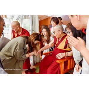 【印度】21天秒決定到印度兩個月!達蘭薩拉(五)Day 32與十四世達賴喇嘛握手.珍貴之會面!