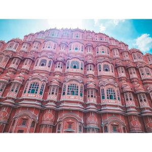 【印度】21天秒決定到印度兩個月!齋浦爾(一)Day20 Pink City.最好喝酸奶沒有之一.寶徠塢電影初體驗!